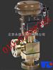 进口气动薄膜高压角型调节阀