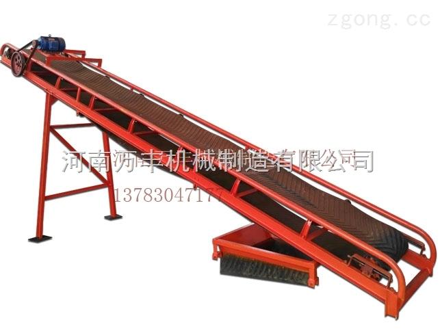 整个有机肥生产环节中的重要设备之一带式输送机
