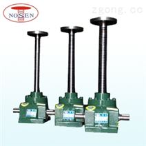 供应升降工具安全自锁铸铁手摇梯形螺旋丝杆升降机